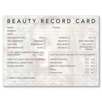 Beauty Record Card 100s