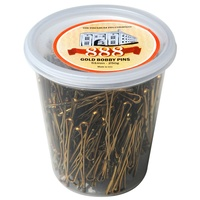 888 Gold Bobby Pins 51mm